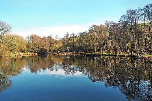 Mangerton Lake - Dorset by Susie Peek