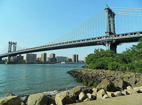 Manhattan Bridge by Emmy Marie Vickers