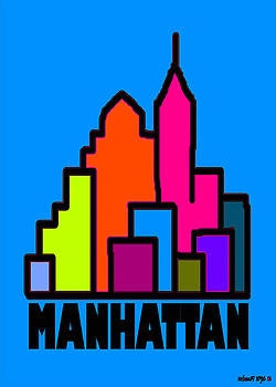 Manhattan Colors by Alexander Aristotle