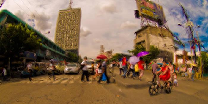 Rolf Bertram - Manila Crosswalk 6292972