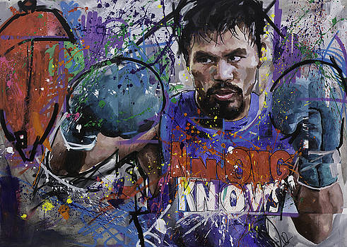 Manny Pacquiao by Richard Day
