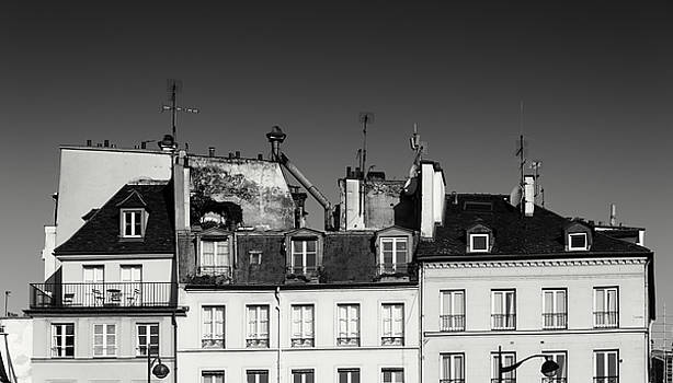 Mansard Of Paris by Zina Zinchik