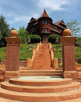 Mansion on a Hill by Cheryl Del Toro