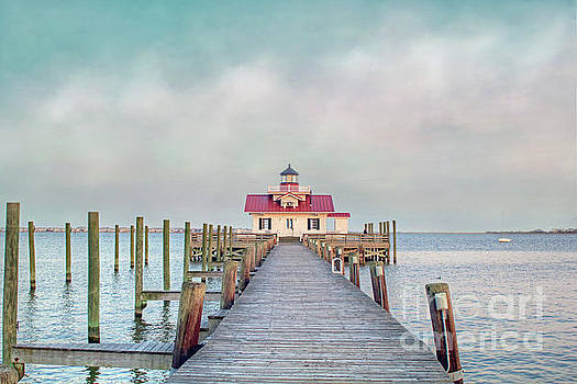 Manteo Lighthouse by Marion Johnson