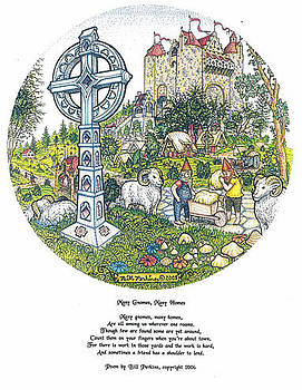 Many Gnomes Many Homes by Bill Perkins