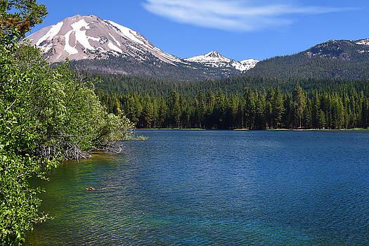 Frank Wilson - Manzanita Lake at Mount Lassen.