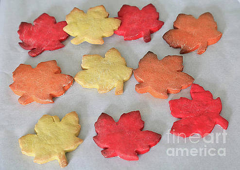 Maple Cookie Leaves by Tracy Hall