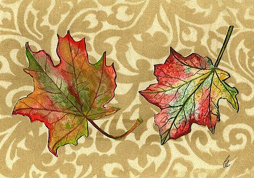 Maple Leaves by Carrie Auwaerter