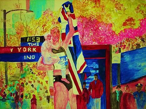 Marathon Mom by Jack Donahue