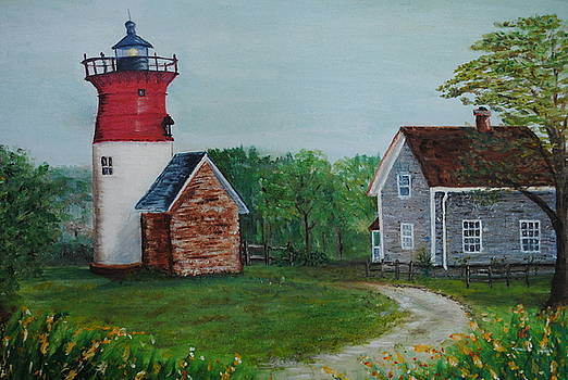 Marbelhead Lighthouse by Debbie Baker