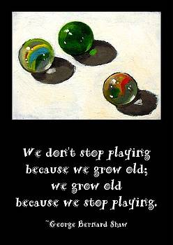 Joyce Geleynse - Marbles and the Importance of Play