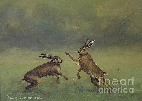 March Hares by Sean Conlon