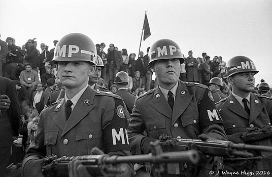 March on the Pentagon, October 21, 1967 by Wayne Higgs