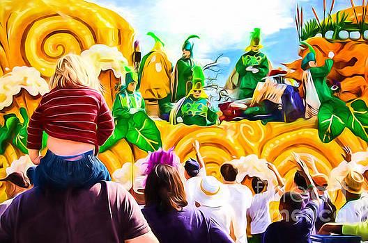 Kathleen K Parker - Mardi Gras Day - New Orleans