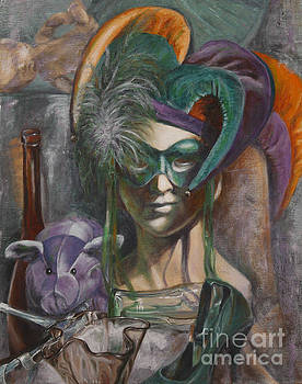 Mardi Gras by Pam Raney