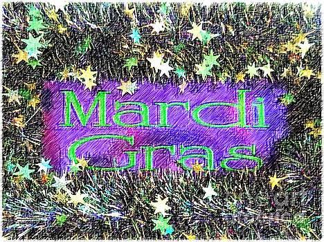 New Orleans Mardi Gras Stars by Michael Hoard