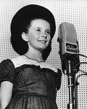 Margret O'Brian Recording at Capitol Records by Robert Harland Perkins
