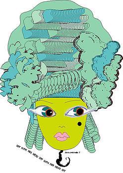 Marie Antoinette 7 by Shirley Sacks