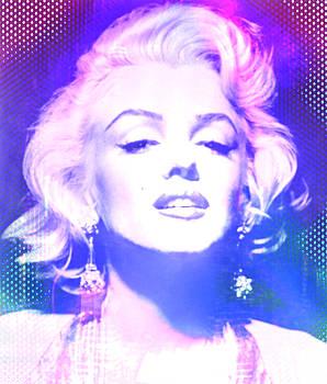 Marilyn Disco Retro by Kim Gauge