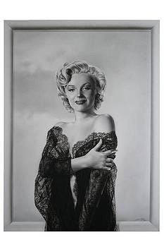 Marilyn in lace by Terry Stephens