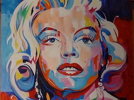 Marilyn Monroe by Gustavo Oliveira
