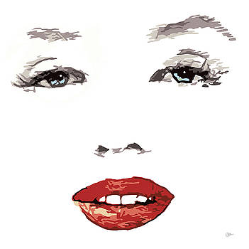 Marilyn Monroe  by Quim Abella