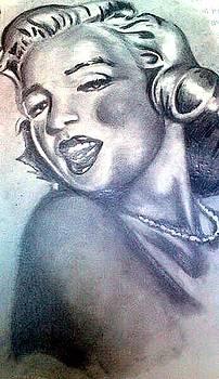 Marilyn Monroe by Pauline Murphy