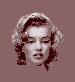 Marilyn Monroe Vintage by Kim Gauge