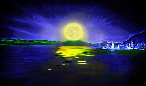 Steve Ohlsen - Marina Moonrise