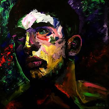Mark Webster Artist - Dave C. 0410 by Mark Webster Artist