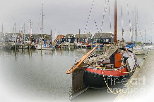 Marken Harbour in Netherlands by David Birchall