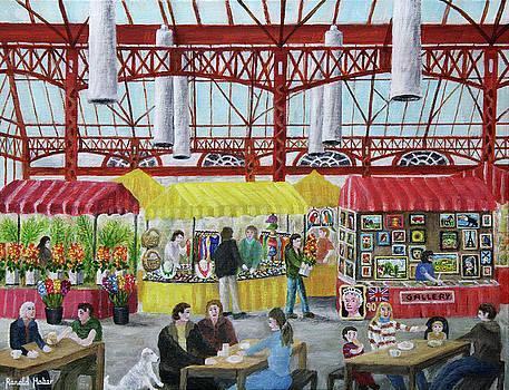 Market Day - Altrincham by Ronald Haber