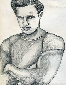 Marlon Brando by Didier DidGiv
