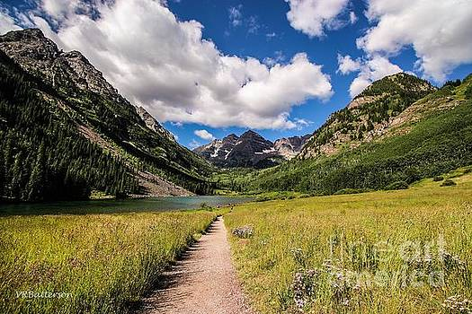 Maroon Bells Image Five by Veronica Batterson