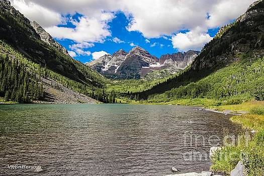 Maroon Bells Image Four by Veronica Batterson
