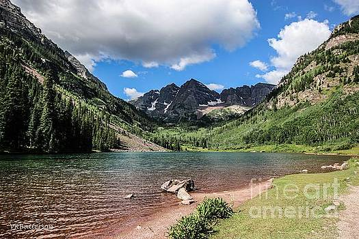 Maroon Bells Image Two by Veronica Batterson