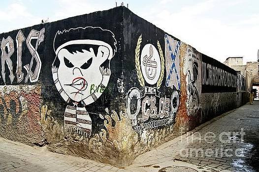 Marrakech Graffiti by David Birchall