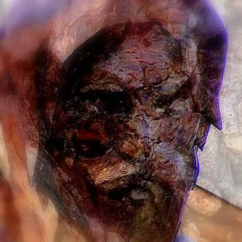 Marred Visage 4 by Kathleen Luther