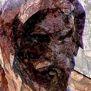 Marred Visage 5 by Kathleen Luther