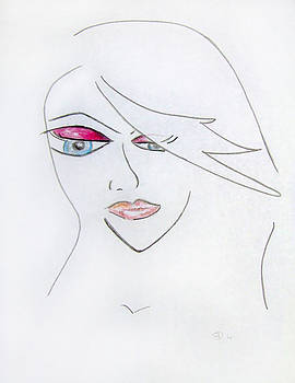 Donna Blackhall - Marriage of Anime and Fashion Art