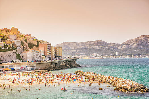 Marseille - South of France - Beach by Vivienne Gucwa