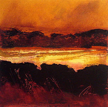 Marsh Glow by Richard Morin