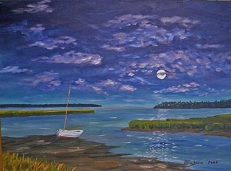 Marsh Moon by Stanton Allaben