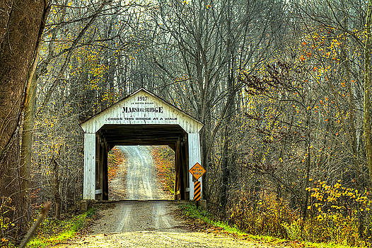 Jack R Perry - Marshall covered bridge