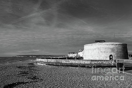 Martello Tower Number 74 Seaford Sussex by James Brunker