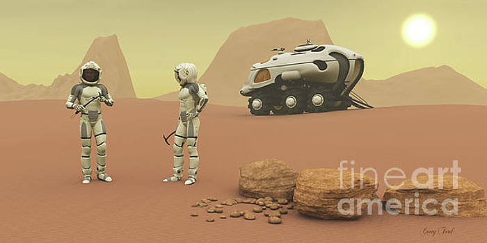Corey Ford - Martian Exploration