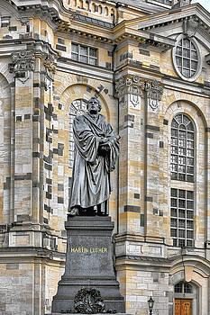 Christine Till - Martin Luther Monument Dresden