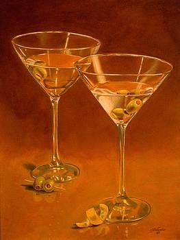 Martinis by Cynthia Snider