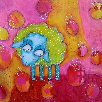 Mary had a little lamb by Barbara Orenya