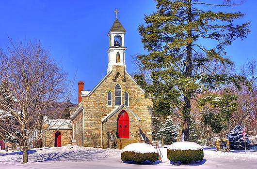Maryland Country Churches - Our Lady of Mt. Carmel Catholic Church - Thurmont, Frederick County, MD by Michael Mazaika